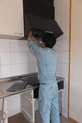 キッチンレンジフード掃除