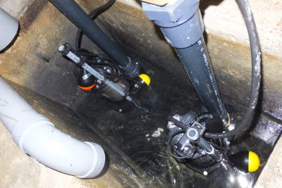 排水ポンプ新設