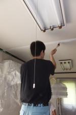 お部屋の木部ペンキ塗り替え塗装