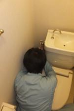 トイレ水漏れ修理/水道管パイプ取り換え交換