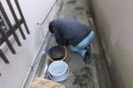排水マス劣化補修修理/マスが詰まり溢れて逆流