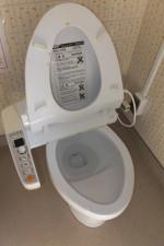 トイレ通管作業後