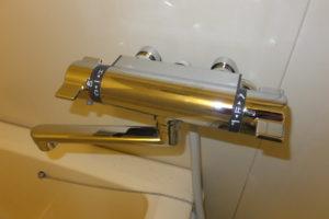 バスシャワー混合栓取替後