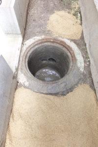 排水桝修理後