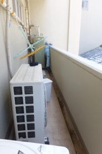 雨水管パイプクリーニング清掃作業中