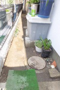 コンクリート土間工事前
