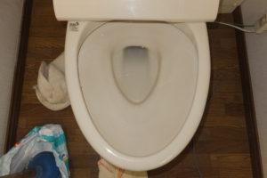 トイレ詰まり解消後