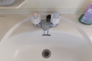 洗面台水漏れ修理完了後