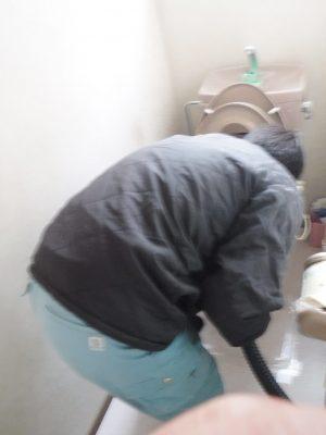 トイレ詰まり予防清掃