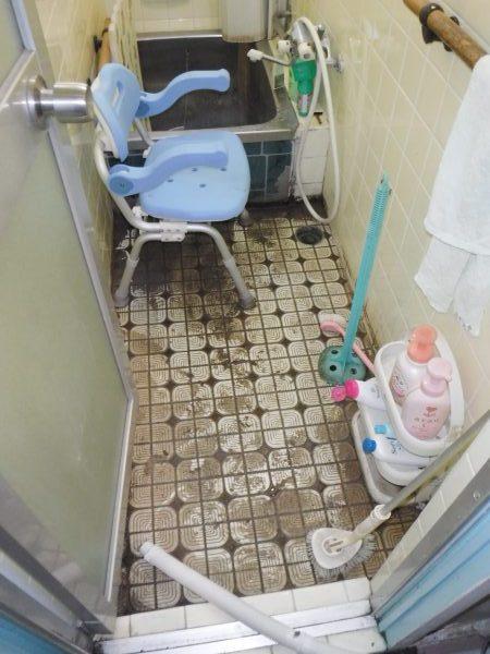お風呂排水溝から逆流