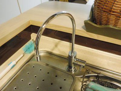 浄水器蛇口水漏れ修理