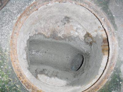トイレ汚水マス水漏れ修理後