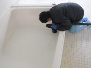 お風呂排水口からの掃除