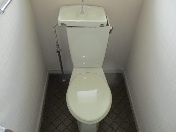 水が止まらなくなったトイレ