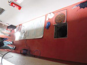 排水高圧洗浄作業中