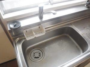 台所のつまり予防清掃作業