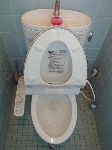水が流れずにごぽごぽ音がするトイレ
