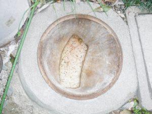 トイレットペーパーで排水管からマスにかけてパンパンです