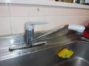 キッチンシングルレバー水栓、MYM製