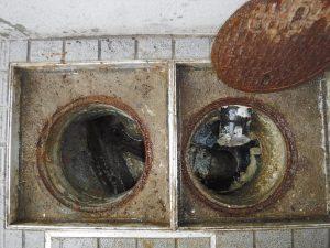 排水管のつまり解消しました