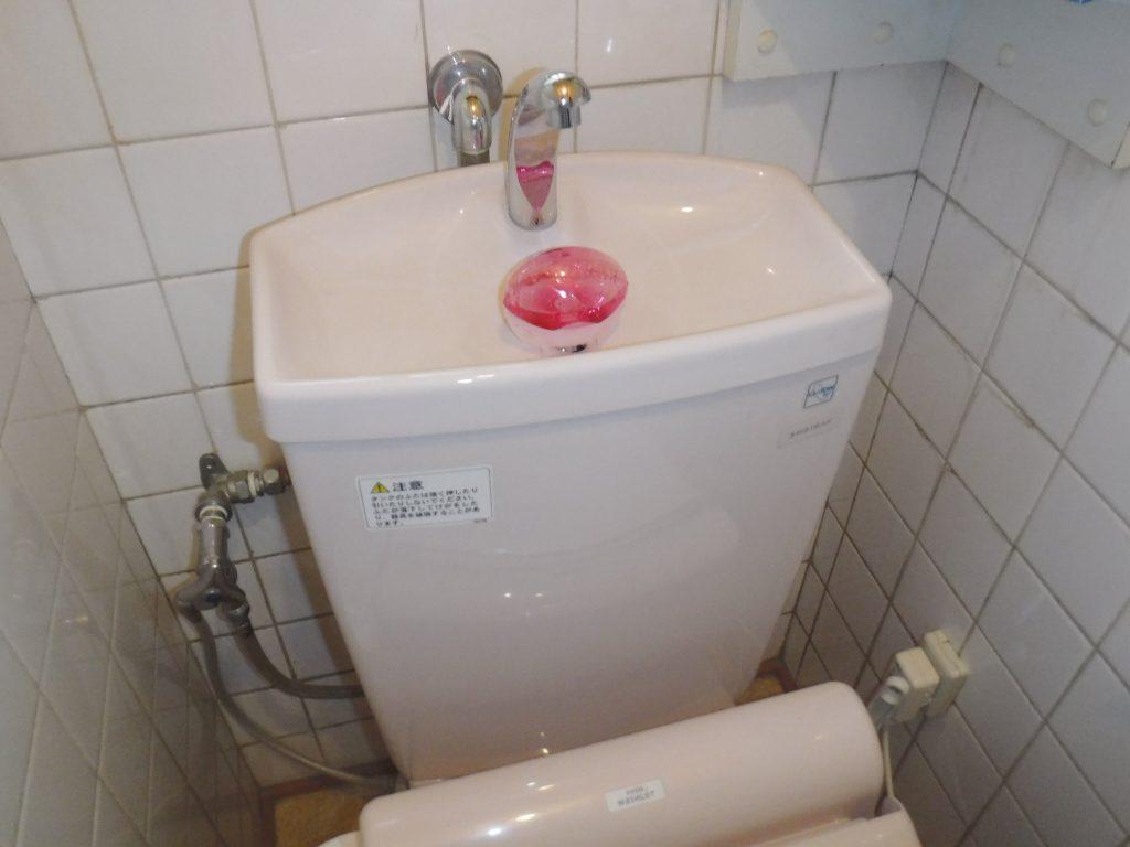 トイレタンクの手洗いから水が出ません