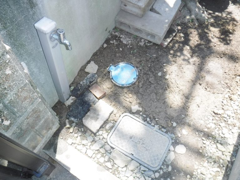 水道管漏水工事完了