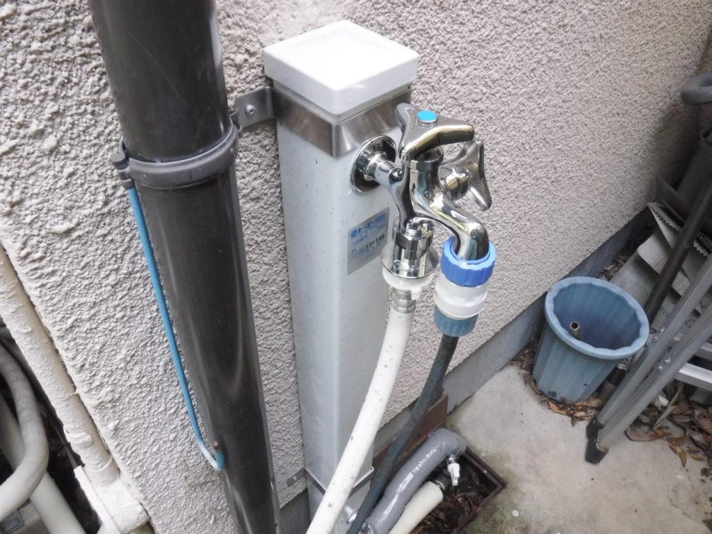 水栓柱工事後