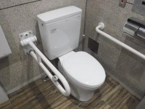 介護トイレの便座取り換え交換後