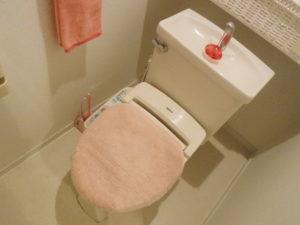 水道料金が上がっている原因と思われるトイレ