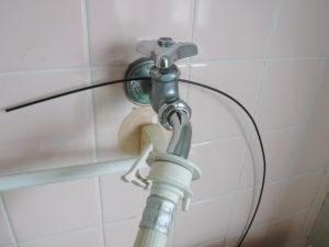 洗濯機蛇口水栓部品取り換え交換後