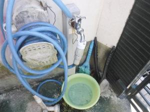 水栓柱取り替え前