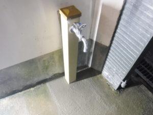 水栓柱取り替え後