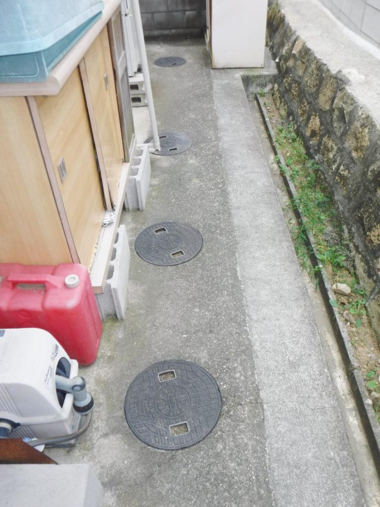 排水管工事前