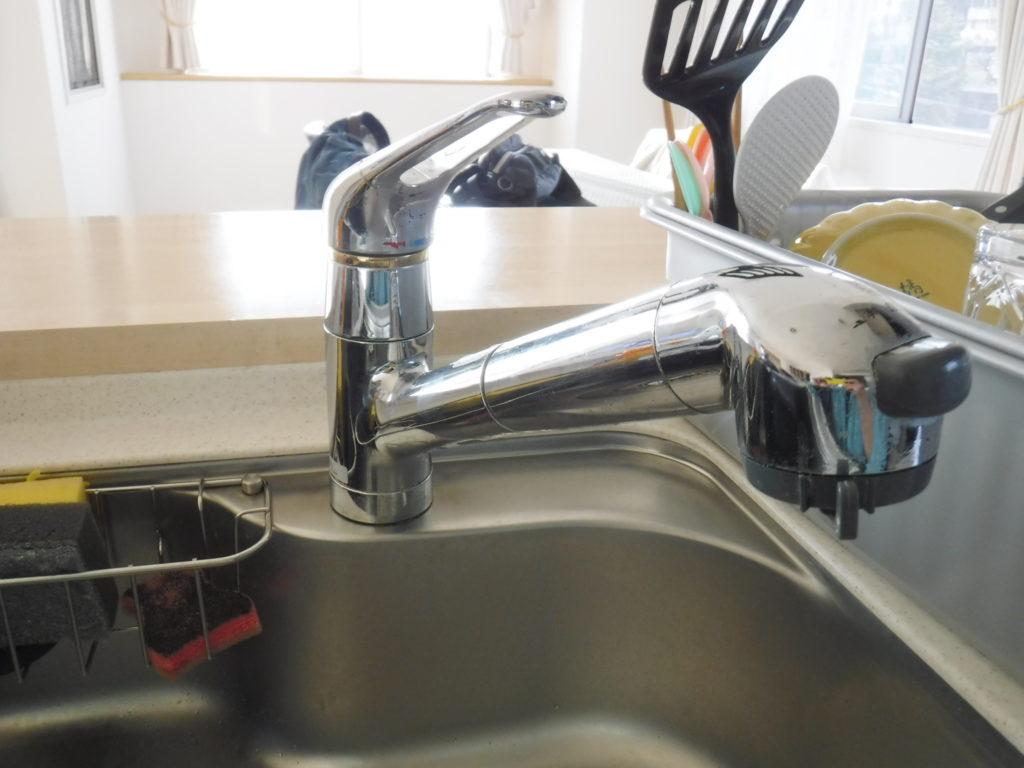 タカギ水栓JH1000の水漏れ
