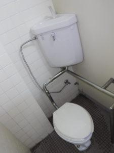 トイレ修理部品一式取替交換後