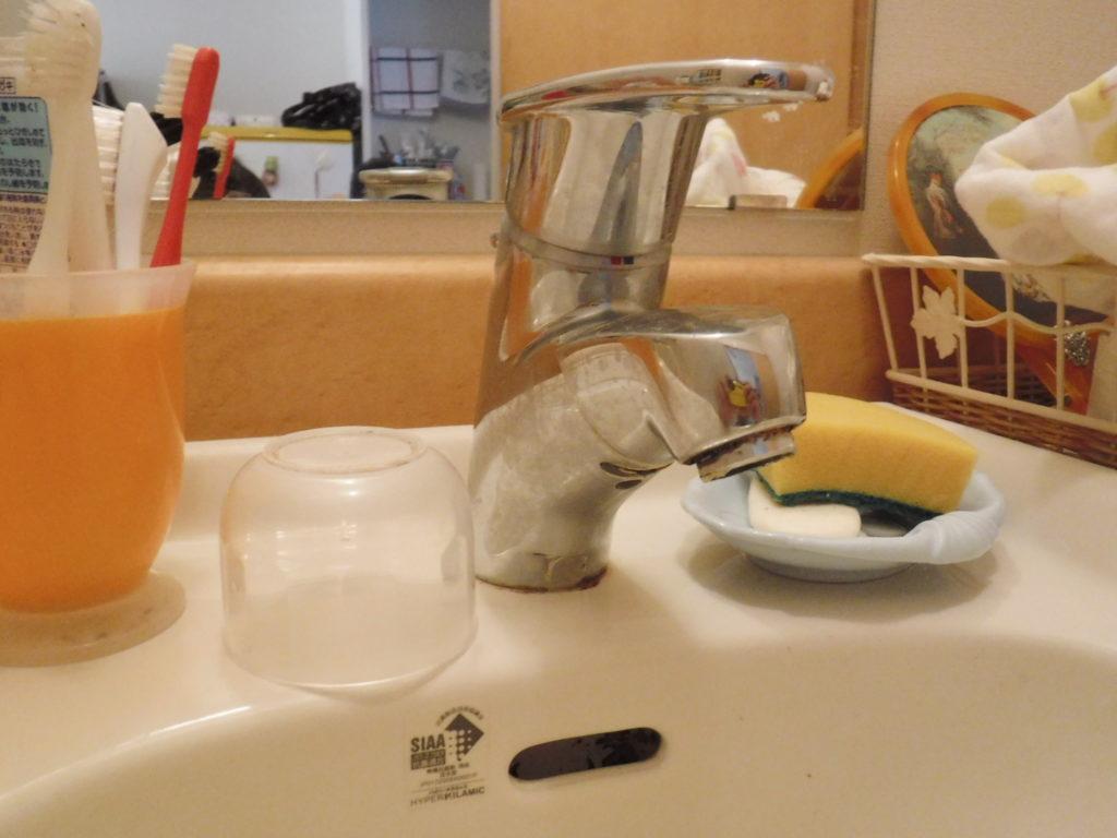 大阪府豊中市での洗面台シャワーホースの水漏れ水道修理