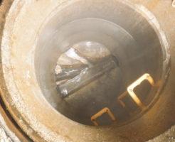 豊中市での排水マスの劣化部分修繕工事