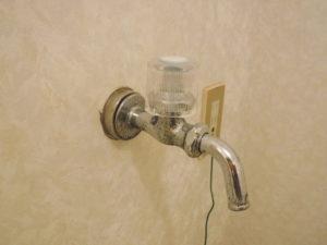 洗濯機水栓水道修理前
