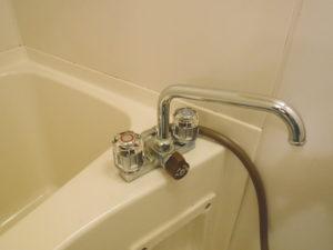 バスシャワー水栓水道水漏れ修理後