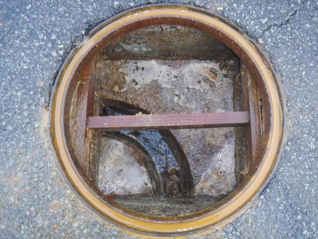 排水管の詰まり修理後