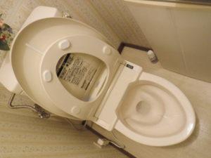 トイレ詰まりのトラブルが解消され水が正常に流れるようになりました