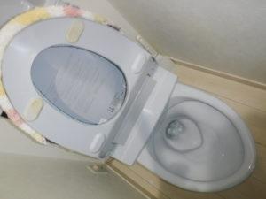 兵庫県伊丹市でのトイレ詰まり修理完了後