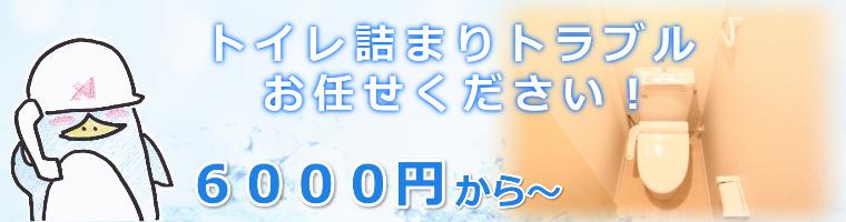 大阪府、兵庫県でのトイレ詰まりトラブル解消費用