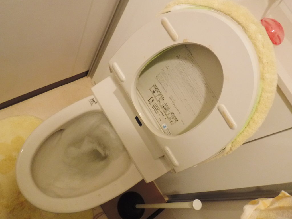 トイレ詰まり修理後は水を流しても勢いよく流れていくようになりました