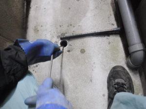 クーラーの室外機の排水にも使用sされている配管のようです