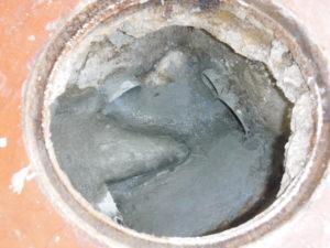 排水マスインバート修理後