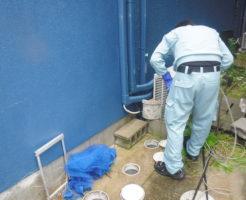 兵庫県芦屋市排水管清掃、キッチン、洗面所、風呂、下水マス掃除