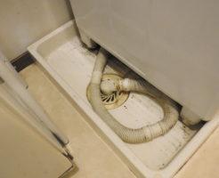 大阪府高槻市での洗濯機排水詰まり修理、屋外排水管高圧洗浄
