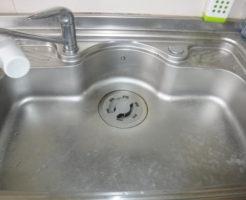 大阪市東淀川区キッチンつまり、排水管清掃詰まりトラブル解消