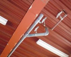 2階キッチンが詰まり1階天井から水漏れ